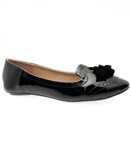 Chaussures femme Metalika: Ballerines noires