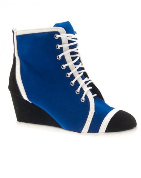 Chaussures femme Metalika: Baskets à talons compensés