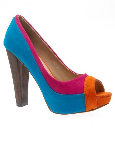 Chaussures femme Metalika: Escarpins bleu