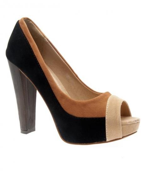 Chaussures femme Metalika: Escarpins noires