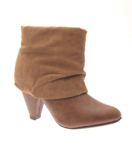 Chaussures femme Poti Pati: Bottine beige