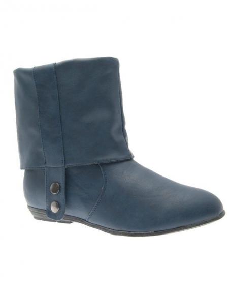 Chaussures femme Poti Pati: Bottine bleu