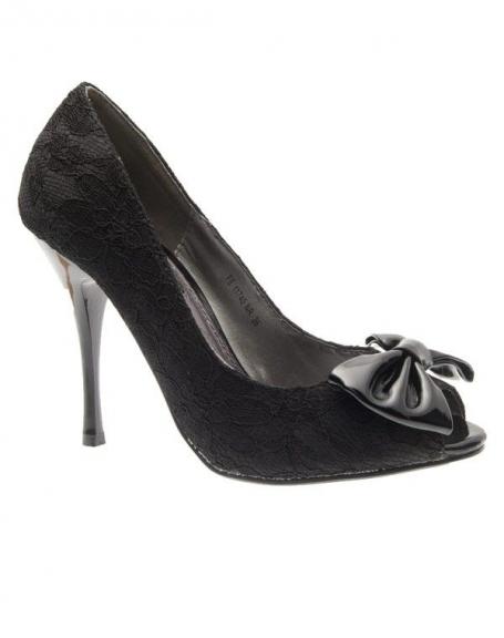Chaussures femme Raxmax: Escarpins ouverts dentelle