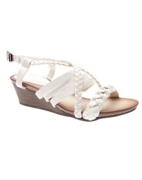 Chaussures femme Sensazione: Sandales blanches