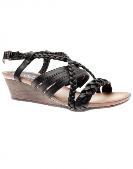 Chaussures femme Sensazione: Sandales noires