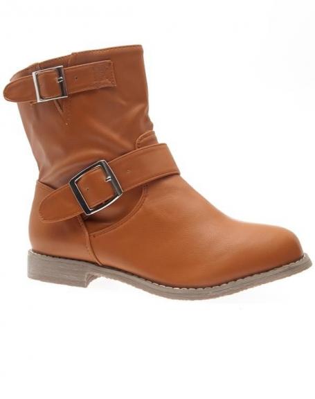 Chaussures femme Sergio Todzi: Bottines camel