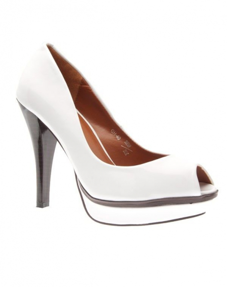 Chaussures femme Sergio Todzi: Escarpins blanc