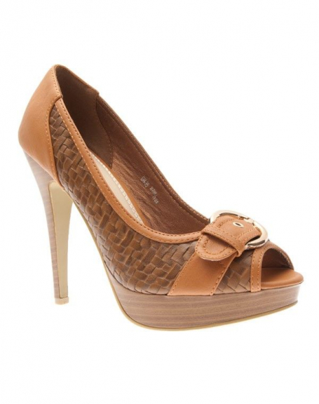 Chaussures femme Sergio Todzi: Escarpins camel