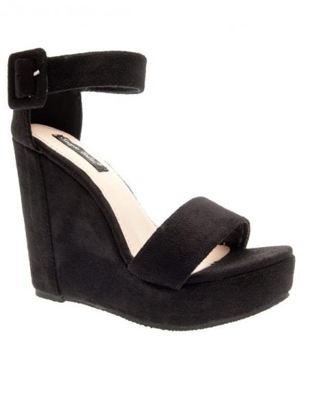 Chaussures femme Sergio Todzi: Escarpins compensés Noirs