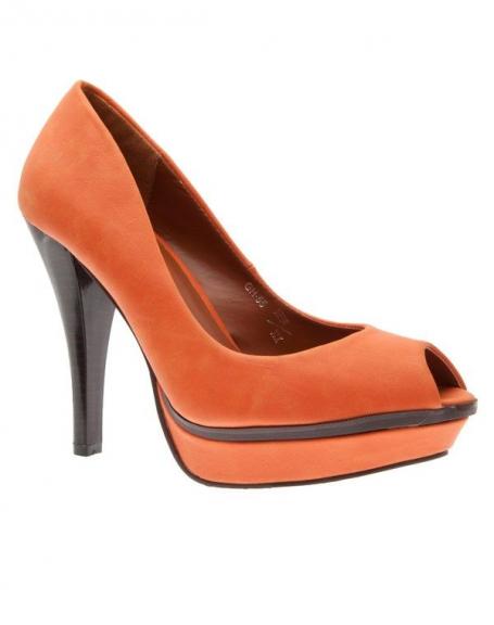 Chaussures femme Sergio Todzi: Escarpins orange