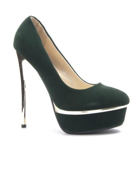 Chaussures femme Sergio Todzi: Escarpins vert