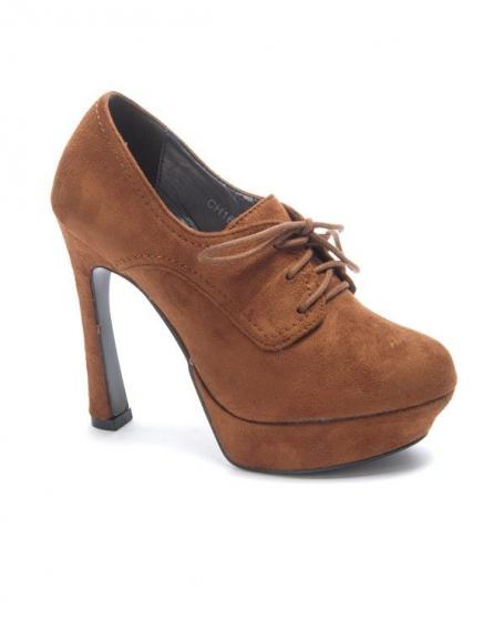 Chaussures femme Sinly: Escarpins camel