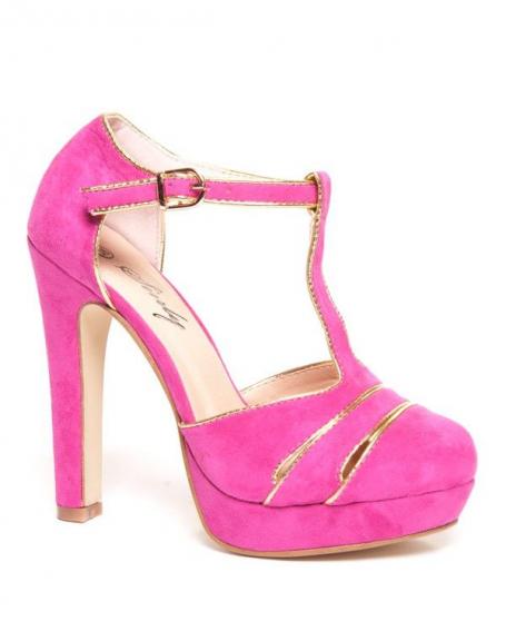 Chaussures femme Sinly: Escarpins fuchsia