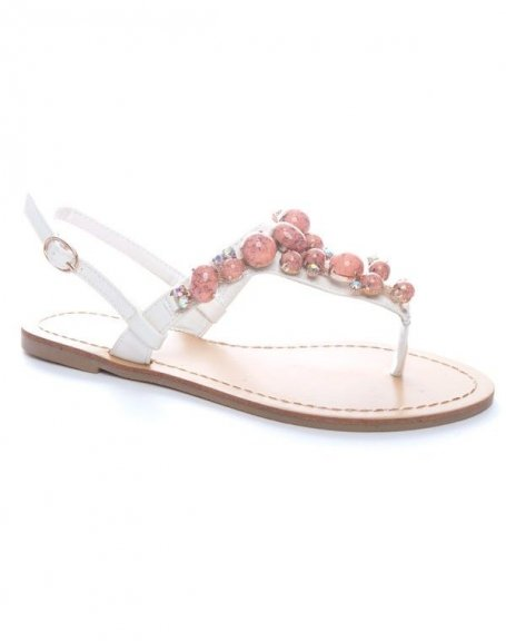 Chaussures femme Sinly Shoes: Sandales blanches