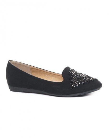 Chaussures femme Style Shoes: Ballerine slipper noire