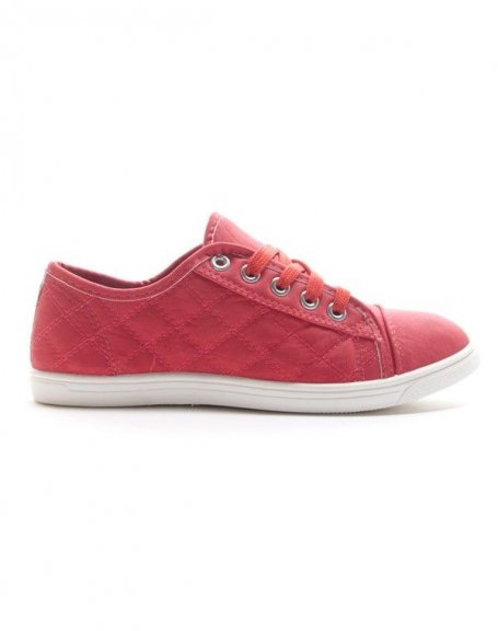 Chaussures femme Style Shoes: Basket corail