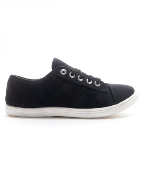 Chaussures femme Style Shoes: Basket noire