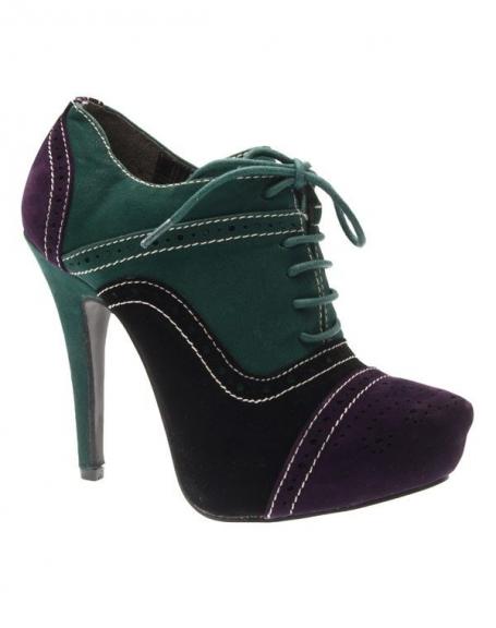 Chaussures femme Style Shoes: Escarpin bout violet