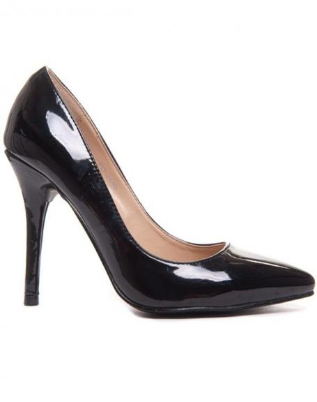 Chaussures femme Style Shoes Escarpin noir vernis