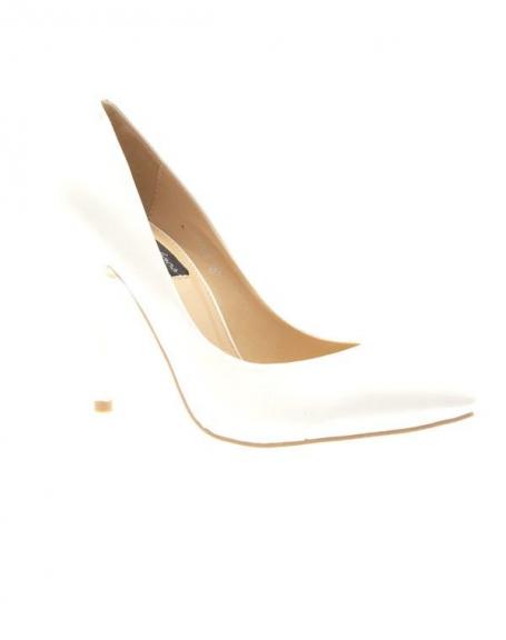 Chaussures femme Style Shoes: Escarpins blanc