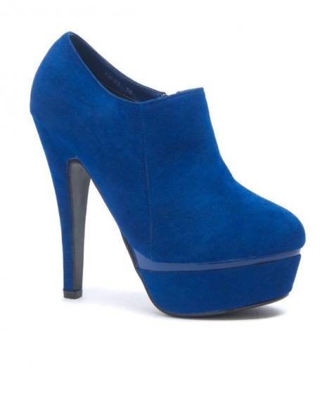 Chaussures femme Style Shoes: Escarpins bleu