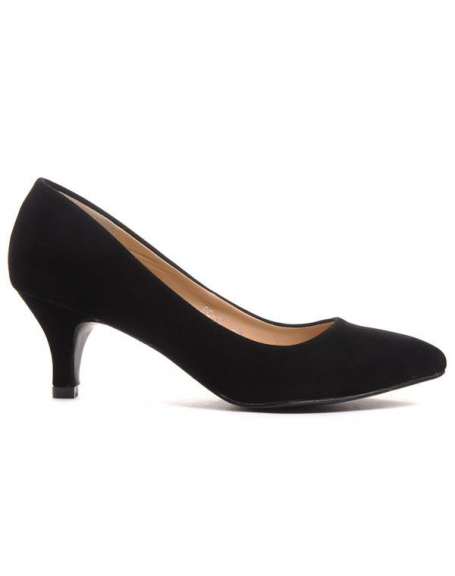 Chaussures femme Style Shoes: Escarpins noir