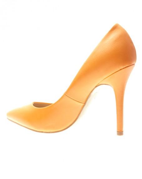 Chaussures femme Style Shoes: Escarpins oranges