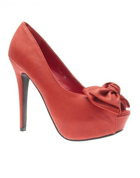Chaussures femme Style Shoes: Escarpins rouges