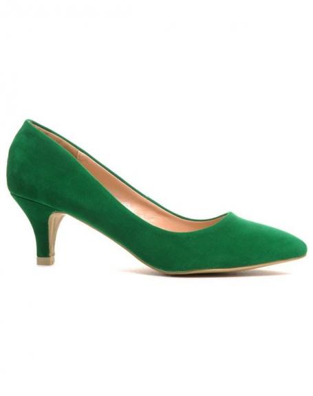 Chaussures femme Style Shoes: Escarpins vert