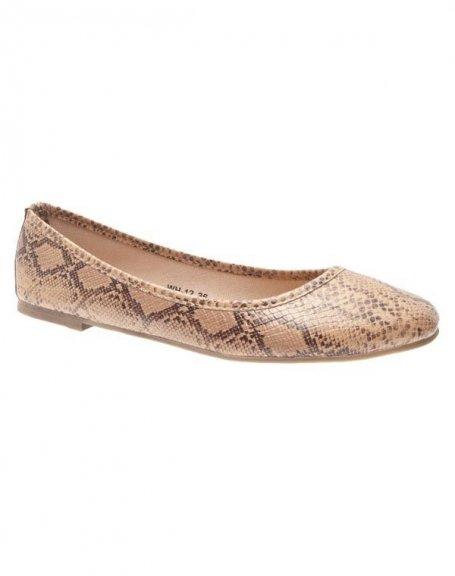 Chaussures femme Sunrise C: Ballerines kaki