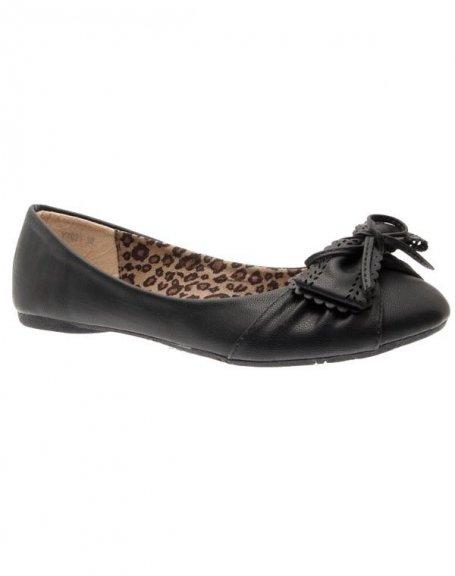 Chaussures femme Sunrise C: Ballerines noires