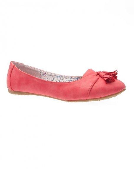Chaussures femme Sunrise C: Ballerines rouges
