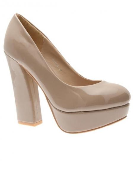 Chaussures femme Sunrise C: Escarpins kaki