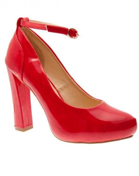 Chaussures femme Sunrise C: Escarpins rouge