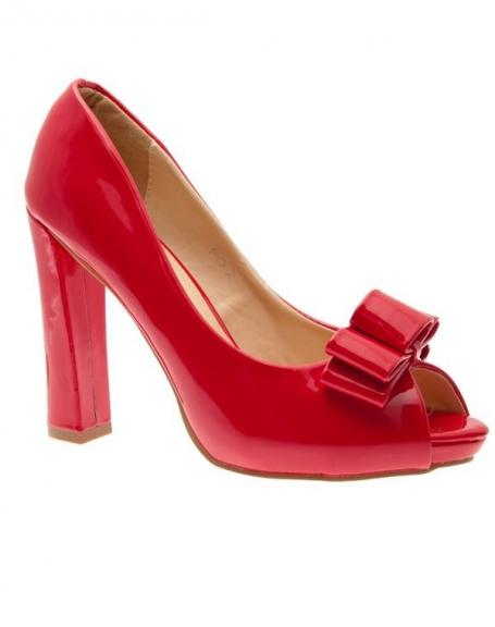 Chaussures femme Sunrise C: Escarpins rouges