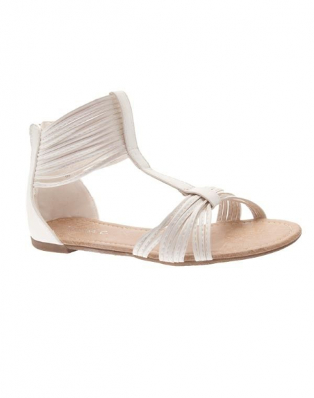 Chaussures femme Sunrise C: Spartiates blanches