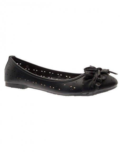 Chaussures femme Suredelle: Ballerines noires