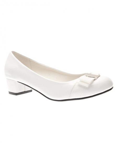 Chaussures femme Suredelle: Escarpins blanc
