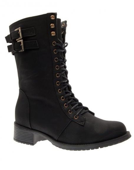 Chaussures femme Top Or: Bottes noires