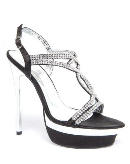 Chaussures femmes Bellucci : Noires à strass