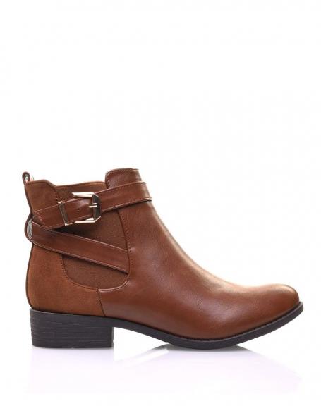 Mi-boots torsadée - Camel LxdQVssHU