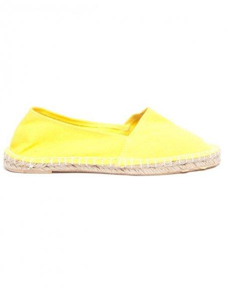 Espadrille jaune de chez Cocoperla