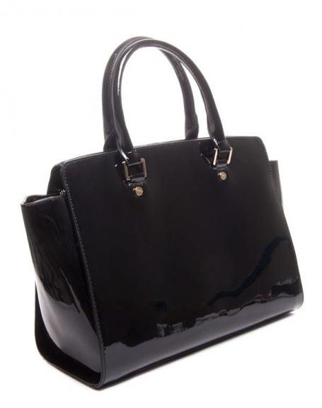 sac main vernis noir flora co. Black Bedroom Furniture Sets. Home Design Ideas