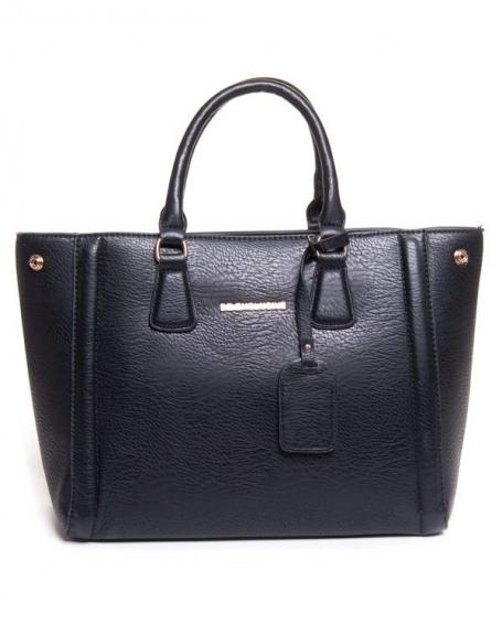 Sac femme Be Exclusive: Grand sac noir