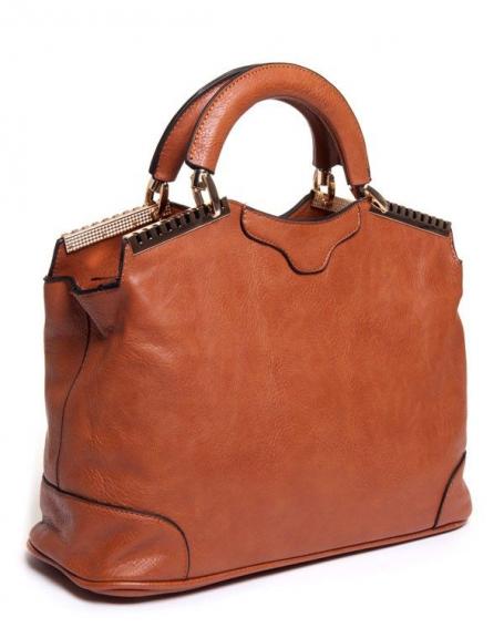 780d2db2f2 Sac femme Be Exclusive: sac à main camel