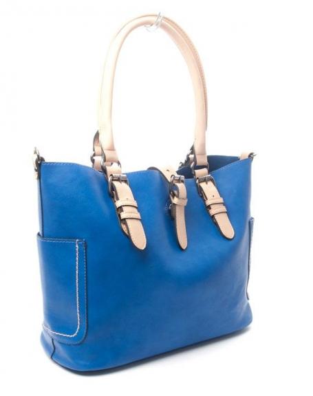 Sac femme Flora &Co: Sac à main bleu