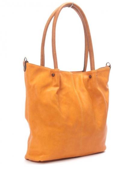 Sac femme Flora&Co: Sac à main orange