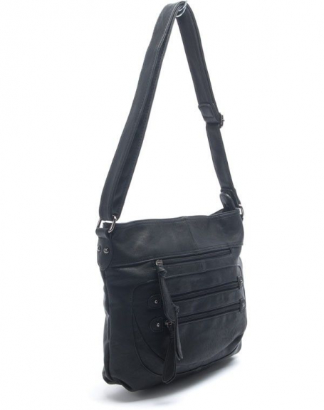 Sac femme Nanucci: sac à main noir