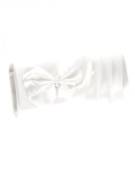 Sac femme Style Shoes: pochette blanc