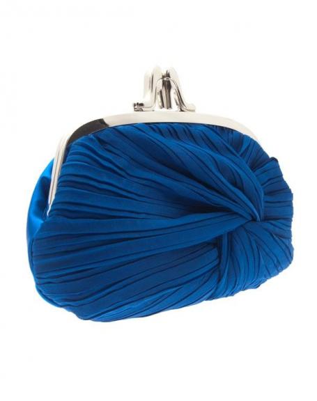 Sac femme Style Shoes: Pochette Bleu